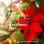1 Day To Christmas