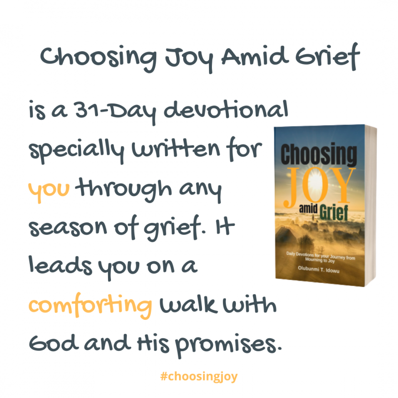Choosing Joy Amid Grief